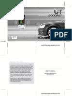 Manual Vehiculo Alarma Ut 5000a Doble via Usuario