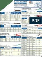 Taparia Tools-price List