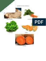 Alimentos Con Vitaminas ABC