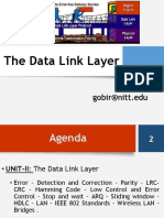 The Data Link Layer_FRAMING_25.01.2016