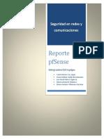 Reporte PfSense