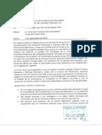 Berger solicita a a Contralor General de la República informe estado de investigación sobre presunto abuso de viajes al extranjero de concejales