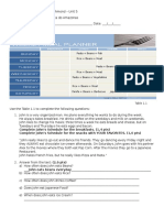 Starters English ID Test Unit 5