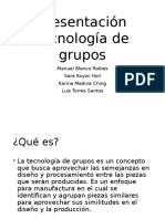 Presentación Tecnología de Grupos