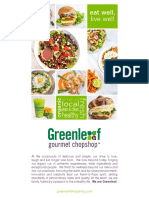 Greenleaf Menu PDF