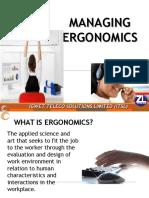 Ergonomics (iGwet Teleco Solutions)
