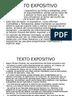 Texto Expositivo y Trabajo Acadxmico