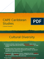 Cbean Studies Cultural Diversity 2