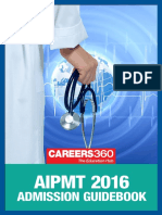 AIPMT 2016 Admission Guide Book