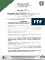 Resol 036 de 2016 Deroga Resol 213-2008 Uso Racional Antibiótic