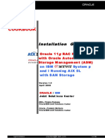Oracle 11g RAC Release 1on AIX
