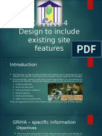 Design to Include Existing Site Features