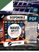 Km-music API 550a y API 550b