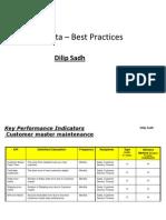 dilip Sadh   Master  Data