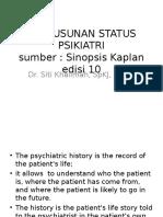 STATUS PSIKIATRI Kaplan Mental State Hari Selasa