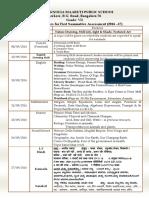 SA1 Time table & portions Grade VII.pdf