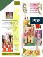 Catalogo 2016 Cosmetica Natural Rocio del Eden