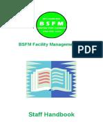 BSFM Staff Handbook