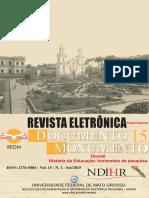 FONSECA, T. N. Historia e Historiografia Da Educação Na América Portuguesa (p. 13-38)