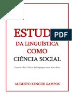 Estudo Da Linguististica Como Ciência Social - Augusto Kengue Campos