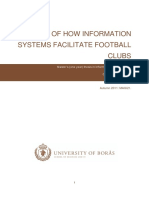 Football Infosystem for club