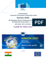 h2020 Brochure India Aug 2014