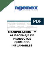 PROCEDIMIENTO DE MANPULACION Y ALMACENAJE DE PRODUCTOS INFLAMABLES.docx