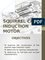 Squirrel Cage Induction Motor 1