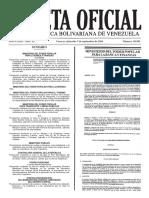 Gaceta Oficial Nº 40.983 - Notilogía
