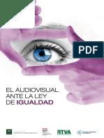 El Audiovisual Ante La Ley de Igualdad