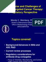 Antibody Drug Conjugates Promise and Challenges Wendy-Weinberg of FDA 01-10-11