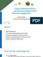 Smart Metering Consumer Engagement