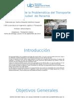 problematica del transporte Ramiro Gutierrez.pptx