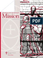 Journal of Lutheran Mission | September 2016