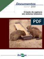Criação de Capivaras Em Sistema Intensivo - Documento200