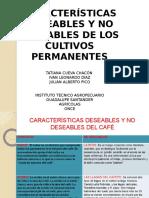 Características deseables en cultivos permanentes
