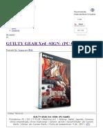 Guilty Gear Xrd -Sign- (Pc-game) - Intercambiosvirtuales
