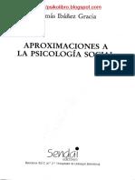 Aproximaciones a La Psicologia Social - Tomás Ibáñez