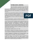 Contrato a Tiempo Parcial Art 4 Ley de Competividad Laboral