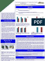 Impact of BBP and Acetone Exposure on F. heteroclitus Health and Behavior