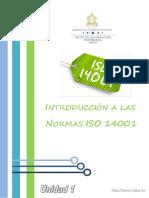 Unidad 1 Conceptos y El Espíritu de La ISO 14001
