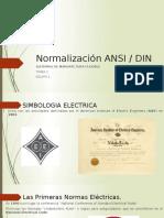 Normalización ANSI