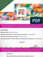 Indicadores Salud Materno Infantil 2015