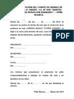 Constitución Del Comité de Padres de Familia 6