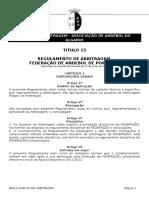 Regulamento Arbitragem AAA