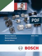 Catalogo Bosch - motores elétricos.