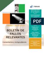 Boletín de Fallos Coquimbo Enero Julio 2016