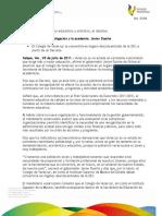 09 07 2011 - El gobernador Javier Duarte de Ochoa anuncia que el Colegio de Veracruz se convertirá en órgano desconcentrado de la SEV.