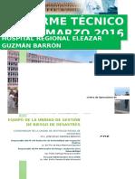 Informe Técnico Marzo 2016