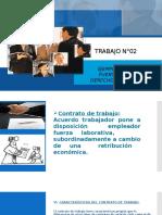 TRABAJO N°02 fuentes de derecho laboral